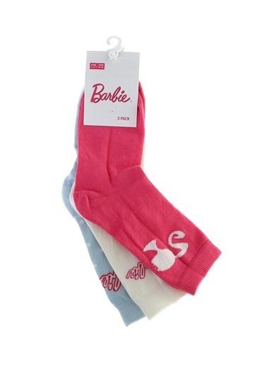 Barbie Barbie Soket Çorap Renkli